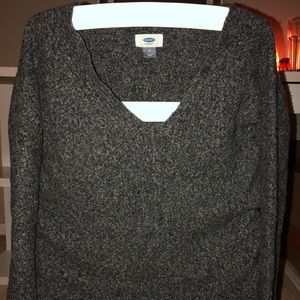Old Navy cozy sweater/v neck top